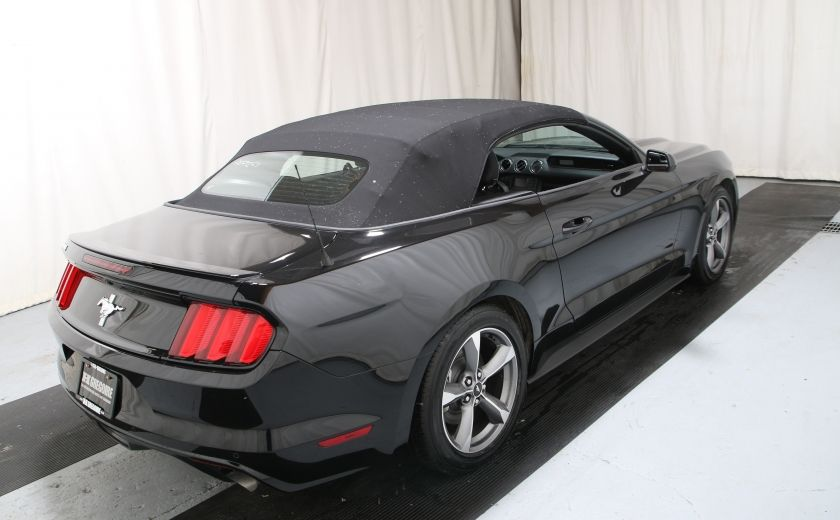 2016 Ford Mustang V6 AUTO A/C TOIT CONVERTIBLE MAGS #5