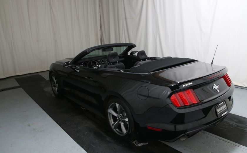 2016 Ford Mustang V6 AUTO A/C TOIT CONVERTIBLE MAGS #9