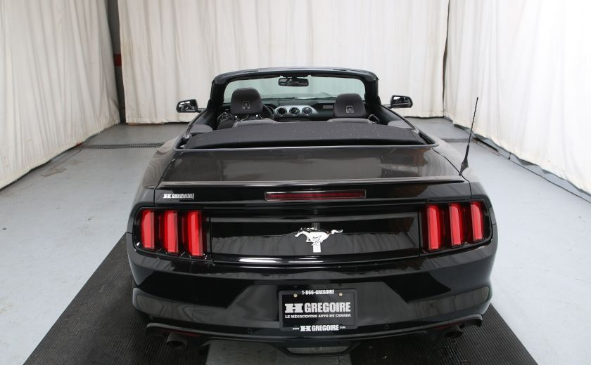 2016 Ford Mustang V6 AUTO A/C TOIT CONVERTIBLE MAGS #10