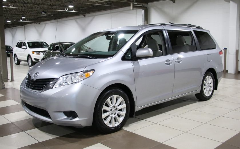 2013 Toyota Sienna LE AWD AUTO A/C MAGS BLUETOOTH 7 PASS #2