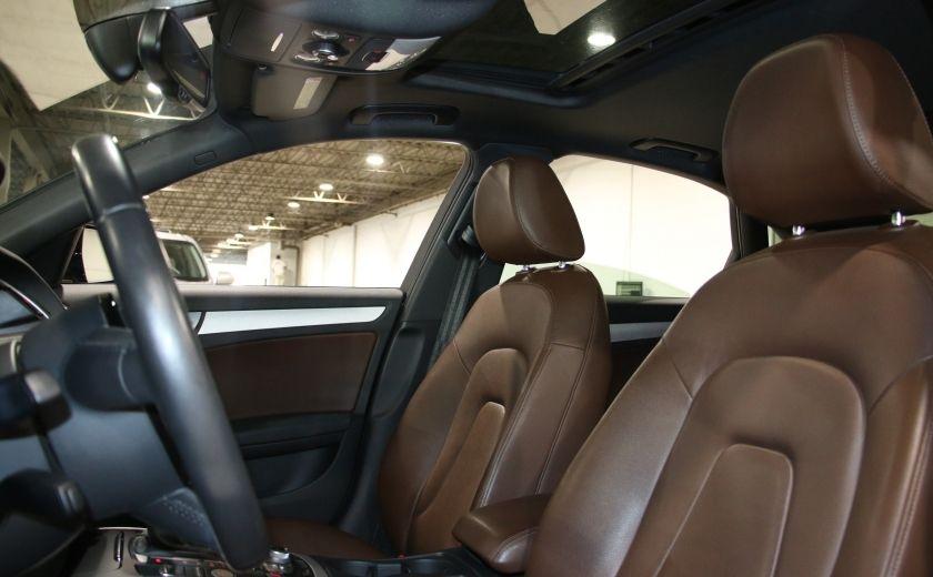 2013 Audi A4 Premium AWD AUTO A/C CUIR TOIT MAGS #9