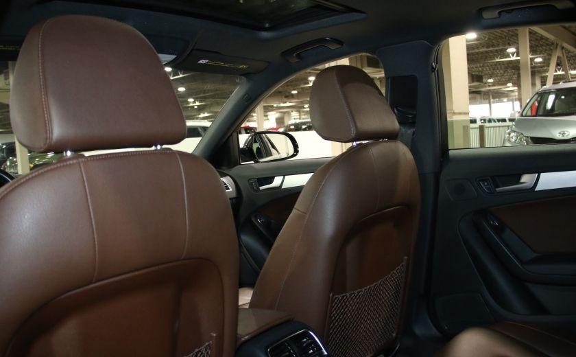 2013 Audi A4 Premium AWD AUTO A/C CUIR TOIT MAGS #22