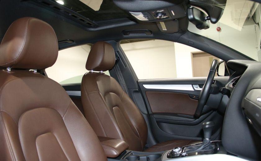 2013 Audi A4 Premium AWD AUTO A/C CUIR TOIT MAGS #28