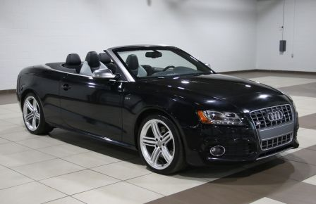 2011 Audi S5 Premium AWD AUTO A/C CUIR CONVERTIBLE MAGS NAV in Sherbrooke