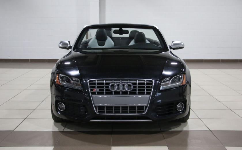 2011 Audi S5 Premium AWD AUTO A/C CUIR CONVERTIBLE MAGS NAV #1