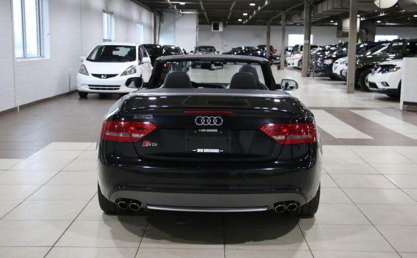 2011 Audi S5 Premium AWD AUTO A/C CUIR CONVERTIBLE MAGS NAV #5