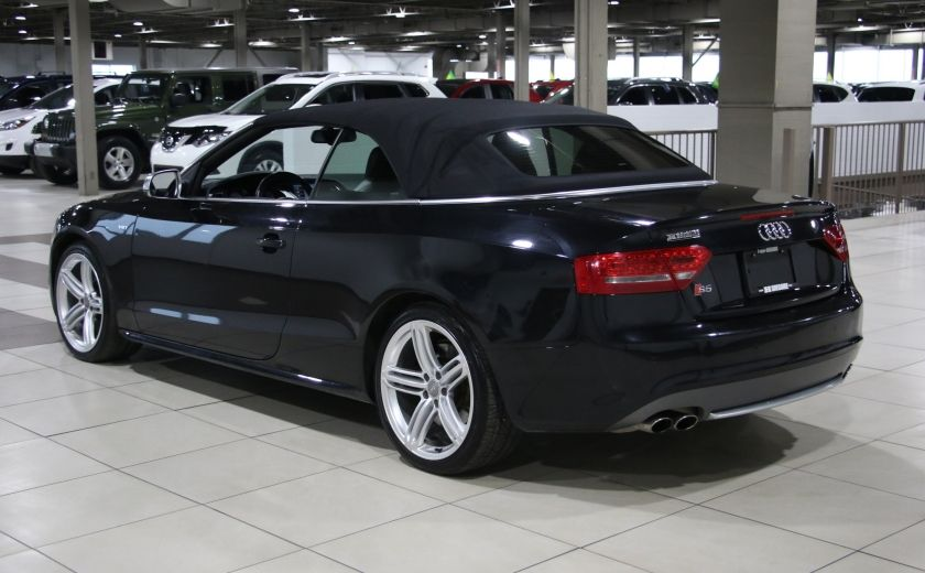 2011 Audi S5 Premium AWD AUTO A/C CUIR CONVERTIBLE MAGS NAV #11