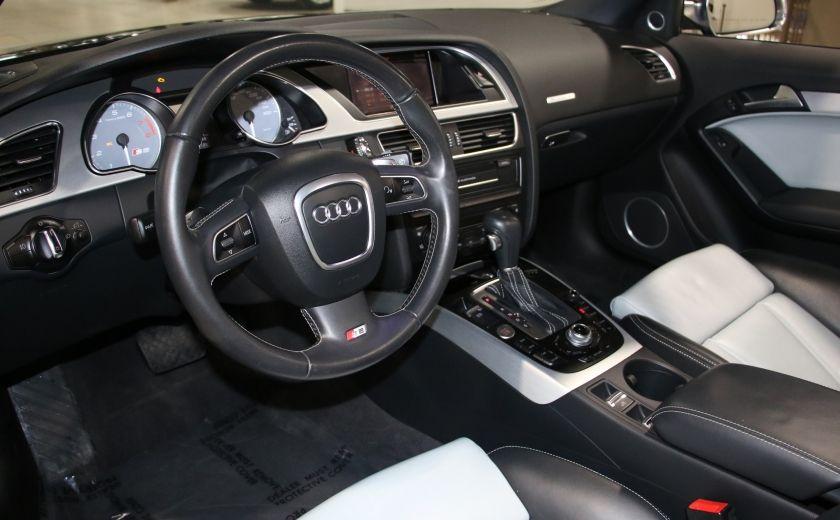 2011 Audi S5 Premium AWD AUTO A/C CUIR CONVERTIBLE MAGS NAV #14