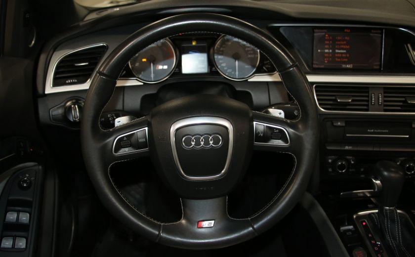2011 Audi S5 Premium AWD AUTO A/C CUIR CONVERTIBLE MAGS NAV #18