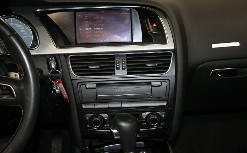 2011 Audi S5 Premium AWD AUTO A/C CUIR CONVERTIBLE MAGS NAV #19