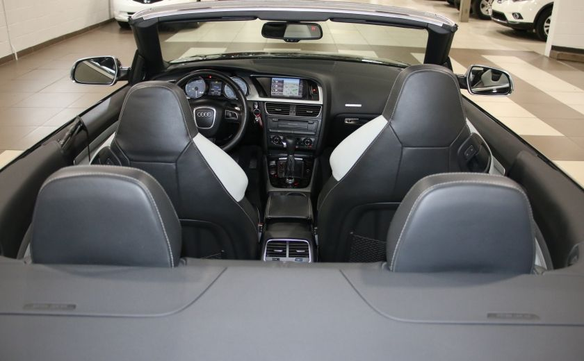 2011 Audi S5 Premium AWD AUTO A/C CUIR CONVERTIBLE MAGS NAV #27