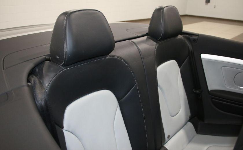2011 Audi S5 Premium AWD AUTO A/C CUIR CONVERTIBLE MAGS NAV #29