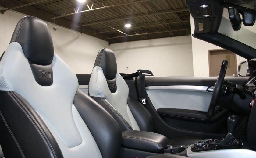 2011 Audi S5 Premium AWD AUTO A/C CUIR CONVERTIBLE MAGS NAV #32