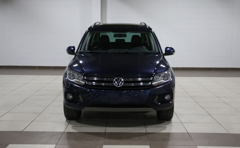 2012 Volkswagen Tiguan COMFORTLINE AWD AUTO A/C CUIR TOIT PANO MAGS #1