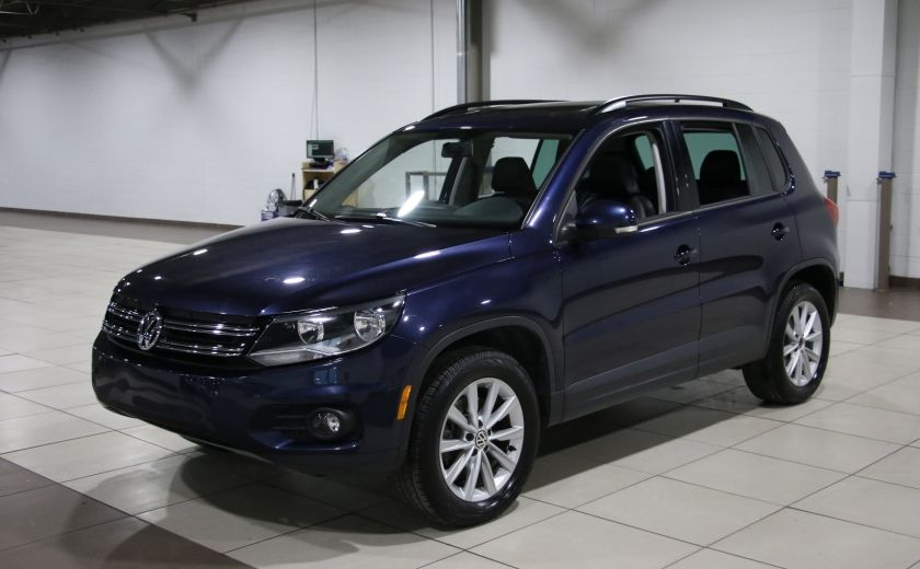 2012 Volkswagen Tiguan COMFORTLINE AWD AUTO A/C CUIR TOIT PANO MAGS #2