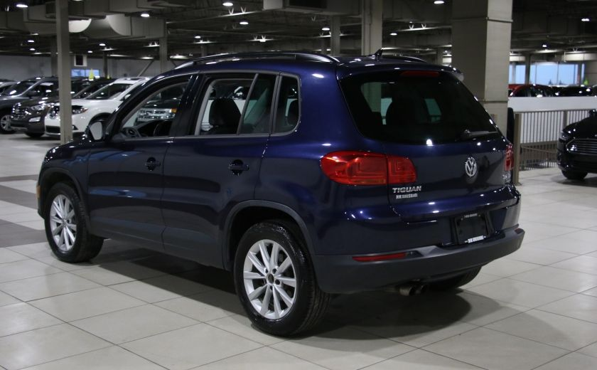 2012 Volkswagen Tiguan COMFORTLINE AWD AUTO A/C CUIR TOIT PANO MAGS #4