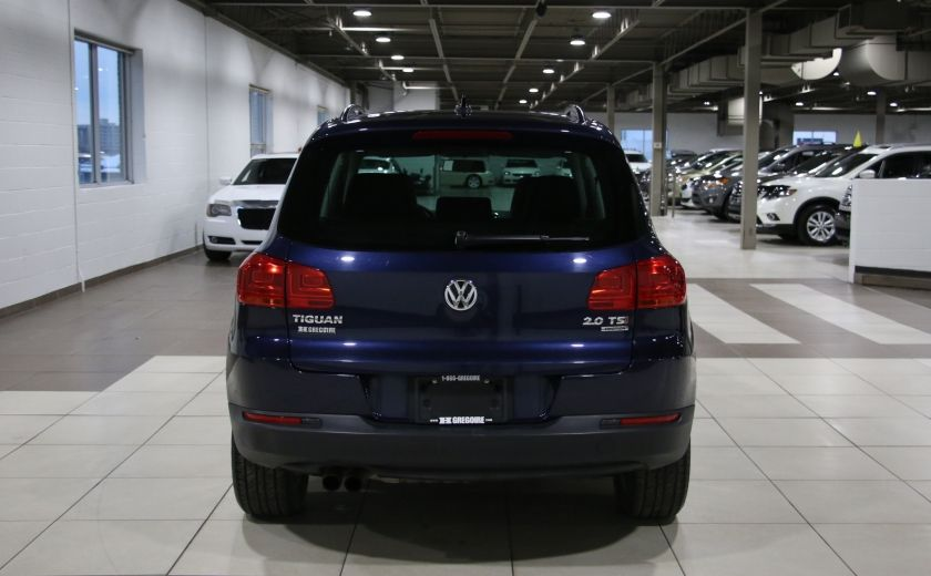 2012 Volkswagen Tiguan COMFORTLINE AWD AUTO A/C CUIR TOIT PANO MAGS #5