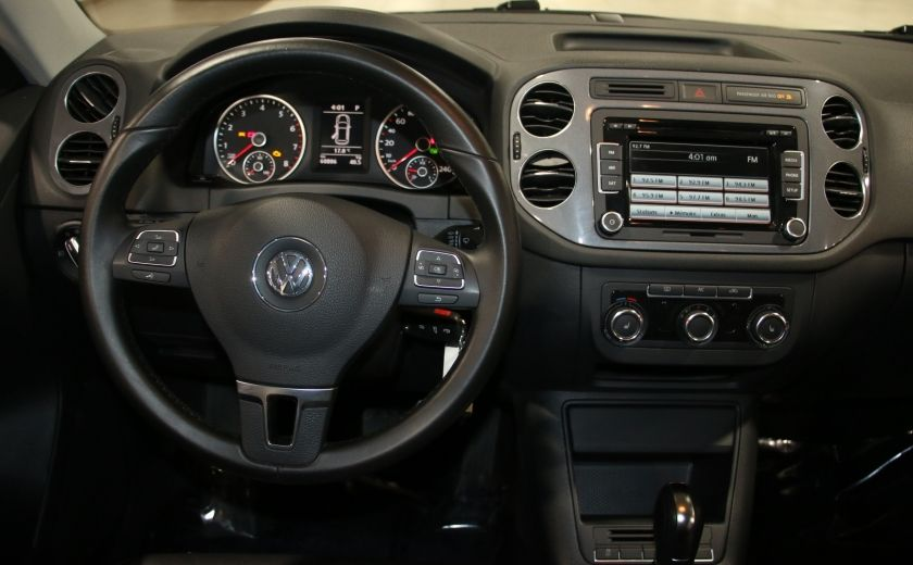 2012 Volkswagen Tiguan COMFORTLINE AWD AUTO A/C CUIR TOIT PANO MAGS #14