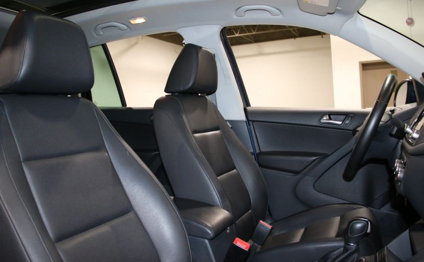 2012 Volkswagen Tiguan COMFORTLINE AWD AUTO A/C CUIR TOIT PANO MAGS #25