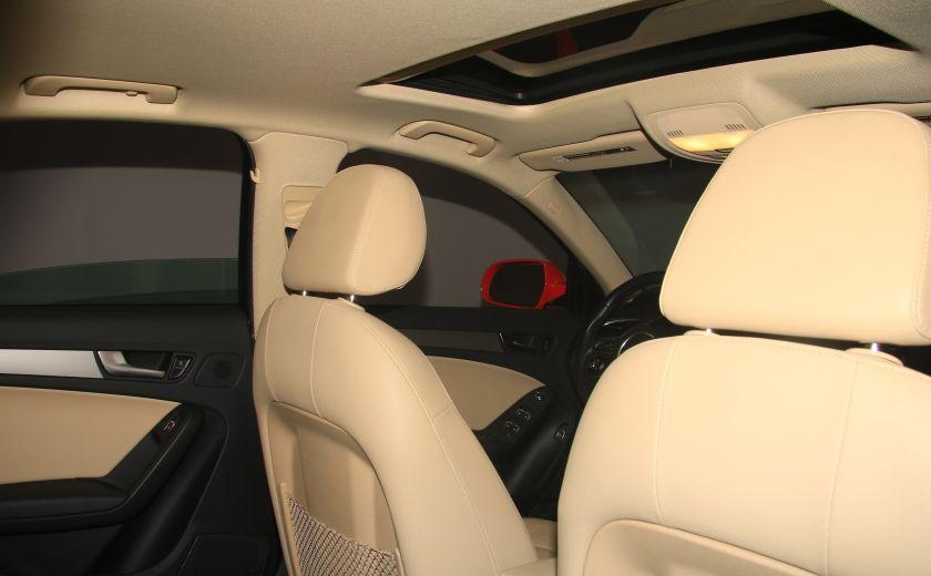 2013 Audi A4 QUATTRO AUTO A/C CUIR TOIT MAGS #20