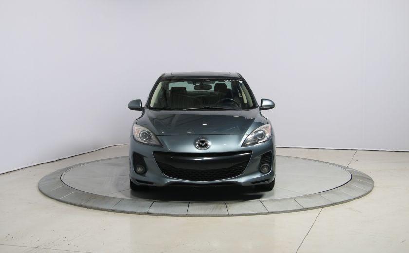 2012 Mazda 3 GT A/C CUIR TOIT MAGS BLUETOOTH #1