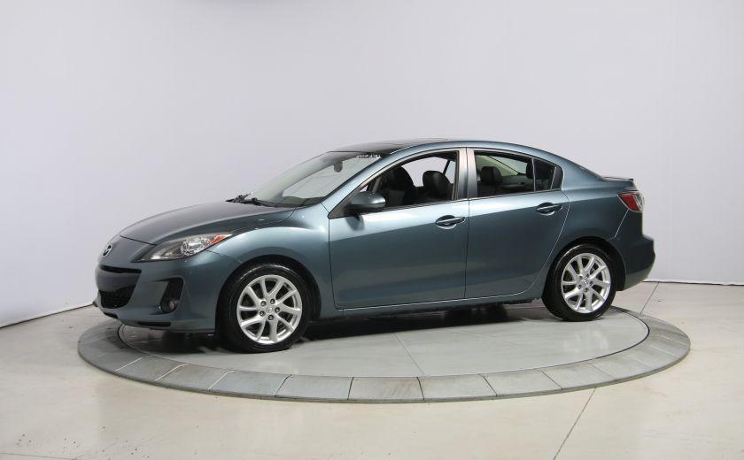 2012 Mazda 3 GT A/C CUIR TOIT MAGS BLUETOOTH #2