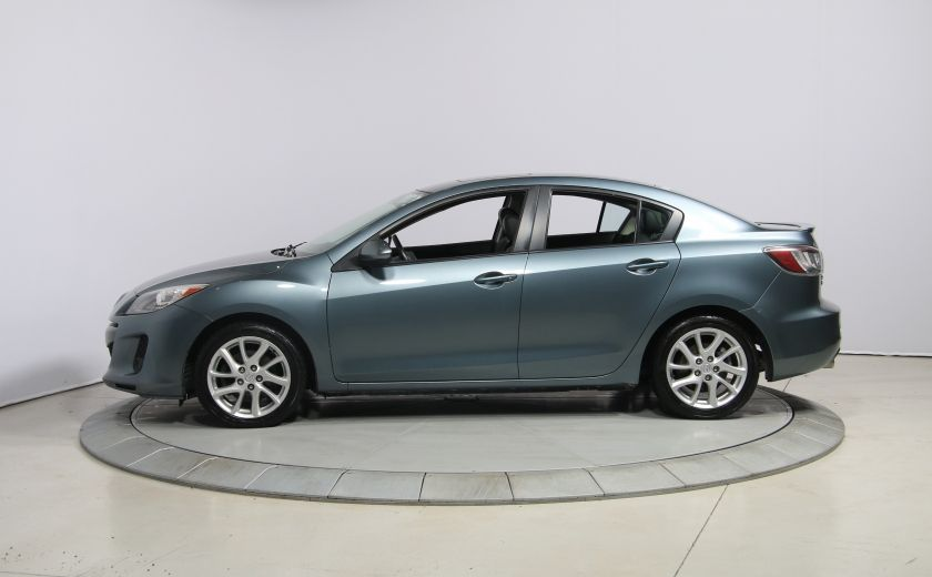 2012 Mazda 3 GT A/C CUIR TOIT MAGS BLUETOOTH #3