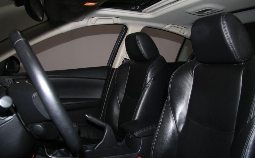 2012 Mazda 3 GT A/C CUIR TOIT MAGS BLUETOOTH #9