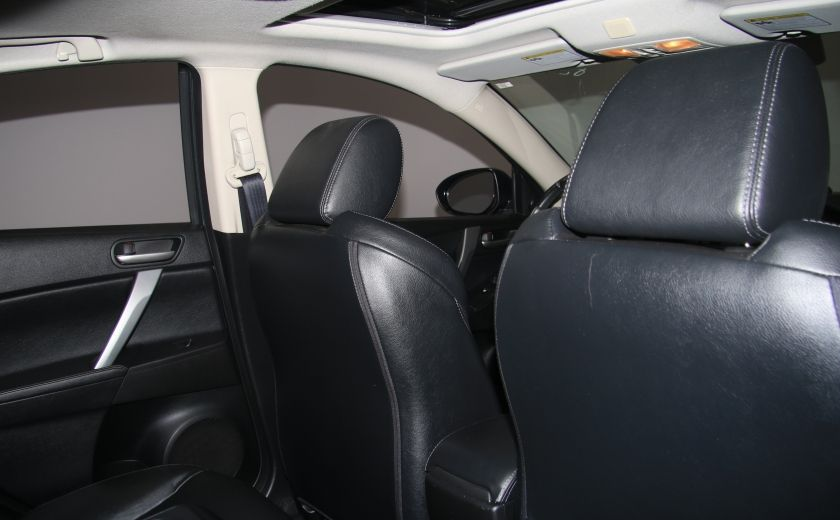 2012 Mazda 3 GT A/C CUIR TOIT MAGS BLUETOOTH #19