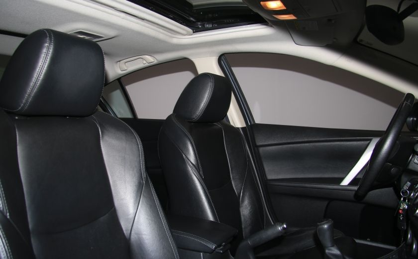 2012 Mazda 3 GT A/C CUIR TOIT MAGS BLUETOOTH #22
