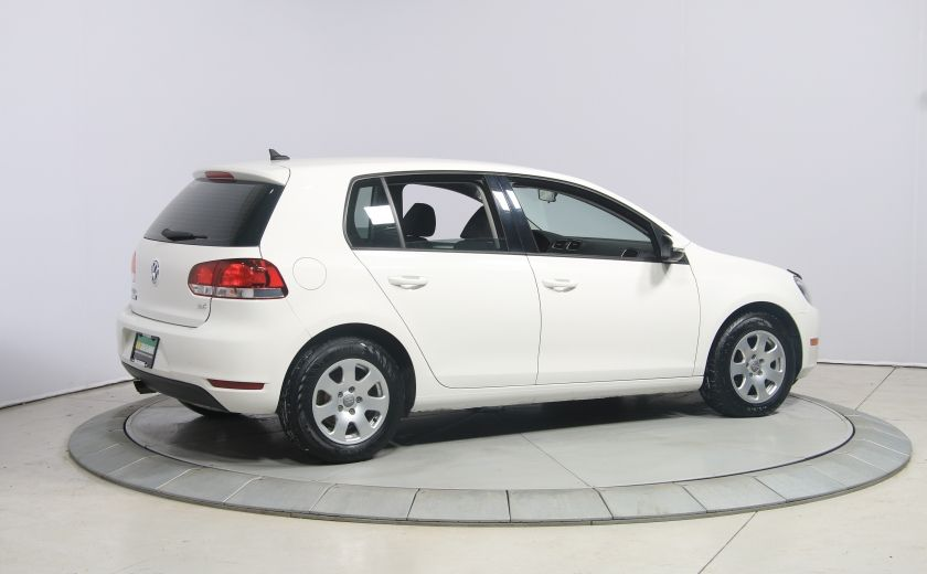 2013 Volkswagen Golf AUTO A/C GR ELECT MAGS #6