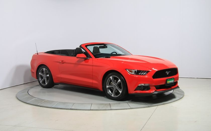 2016 Ford Mustang V6 AUTO A/C DÉCAPOTABLE MAGS BLUETOOTH #0