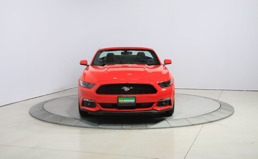 2016 Ford Mustang V6 AUTO A/C DÉCAPOTABLE MAGS BLUETOOTH #1