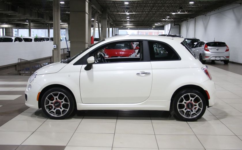 2013 Fiat 500 Sport AUTO A/C CUIR MAGS #3