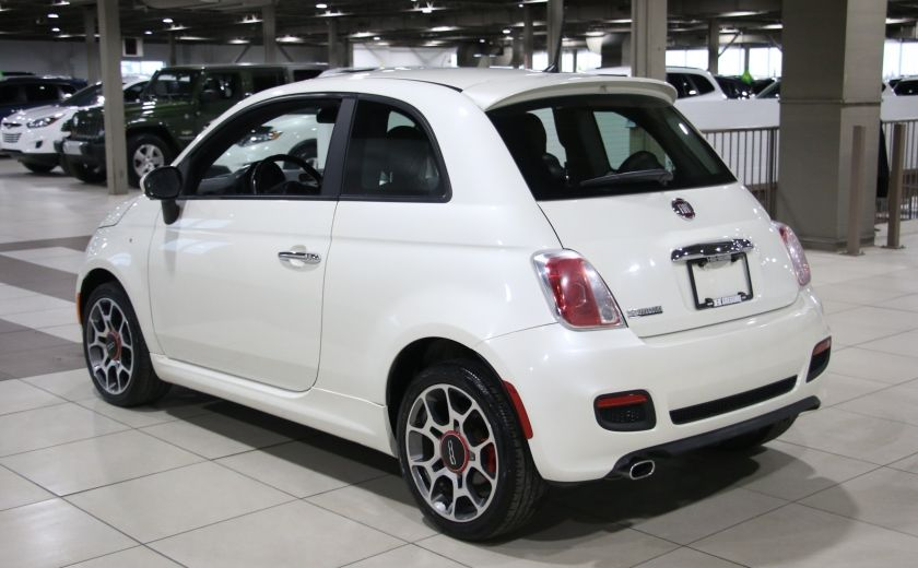 2013 Fiat 500 Sport AUTO A/C CUIR MAGS #4