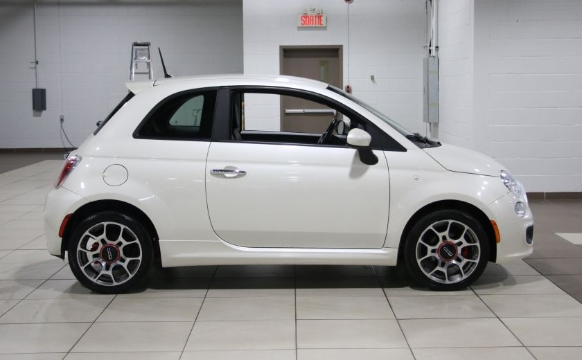 2013 Fiat 500 Sport AUTO A/C CUIR MAGS #7