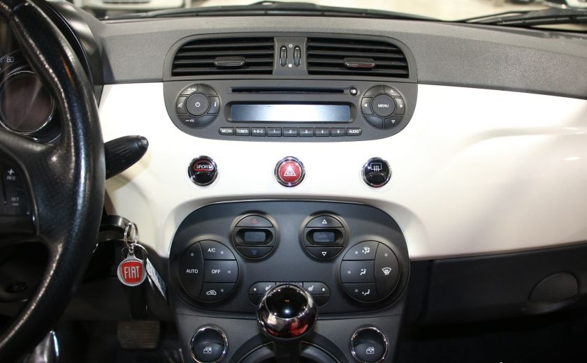 2013 Fiat 500 Sport AUTO A/C CUIR MAGS #9