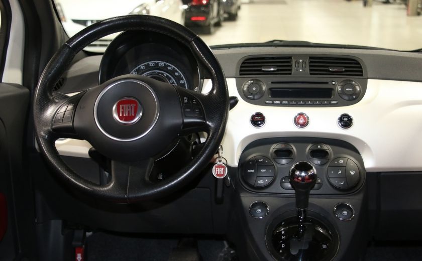 2013 Fiat 500 Sport AUTO A/C CUIR MAGS #11
