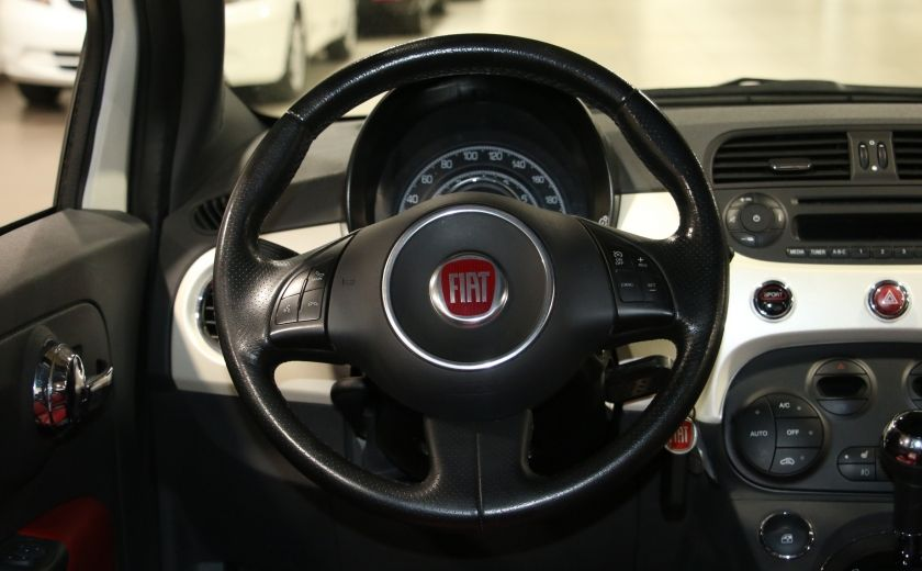 2013 Fiat 500 Sport AUTO A/C CUIR MAGS #12