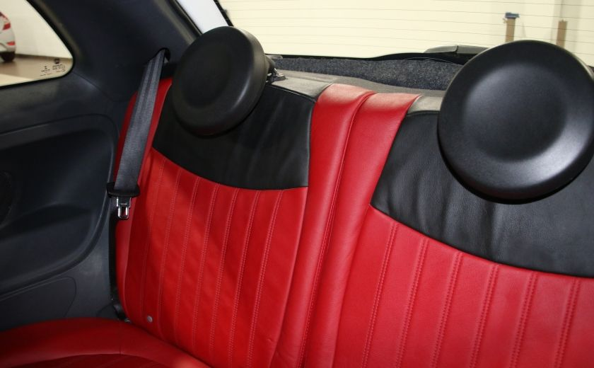 2013 Fiat 500 Sport AUTO A/C CUIR MAGS #14