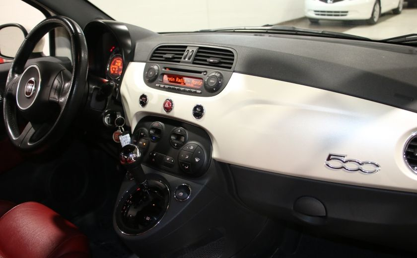2013 Fiat 500 Sport AUTO A/C CUIR MAGS #16
