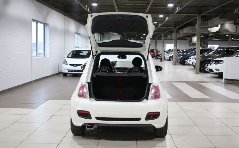 2013 Fiat 500 Sport AUTO A/C CUIR MAGS #21