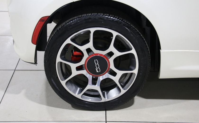 2013 Fiat 500 Sport AUTO A/C CUIR MAGS #24