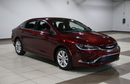 2015 Chrysler 200 LIMITED CAMERA RECUL BLUETHOOT #0