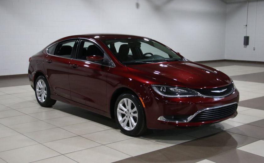 2015 Chrysler 200 LIMITED CAMERA RECUL BLUETHOOT #0