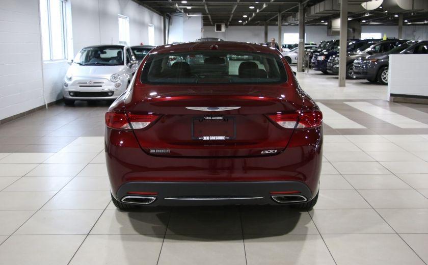 2015 Chrysler 200 LIMITED CAMERA RECUL BLUETHOOT #5