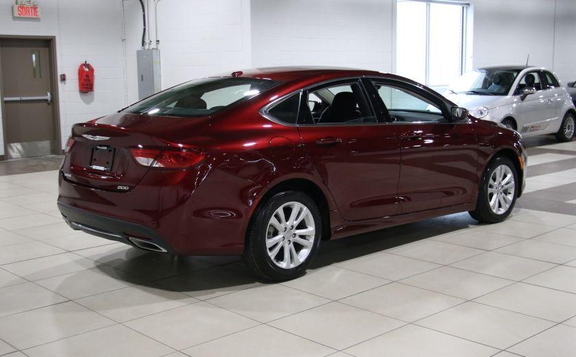 2015 Chrysler 200 LIMITED CAMERA RECUL BLUETHOOT #6