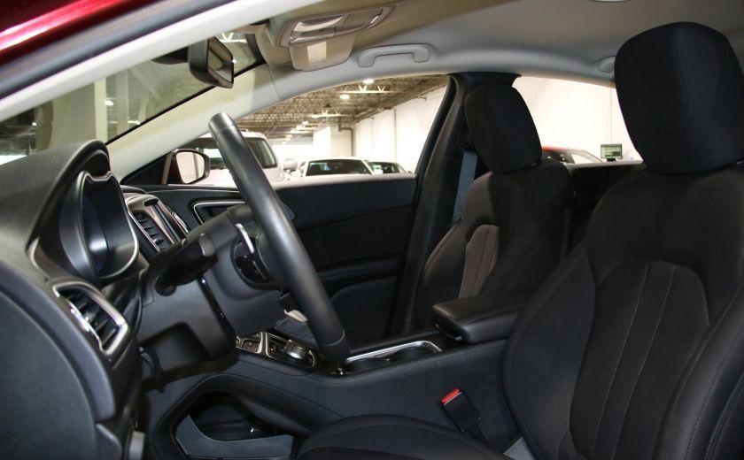 2015 Chrysler 200 LIMITED CAMERA RECUL BLUETHOOT #9
