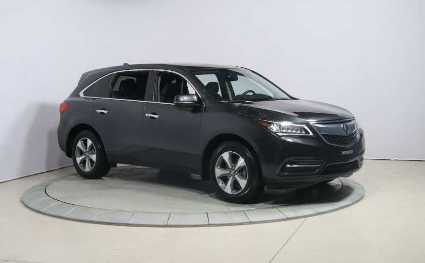 2016 Acura MDX SH-AWD A/C CUIR TOIT MAGS BLUETOOTH 7PASSAGERS #0