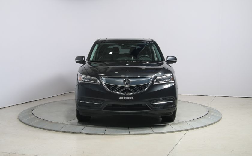 2016 Acura MDX SH-AWD A/C CUIR TOIT MAGS BLUETOOTH 7PASSAGERS #1